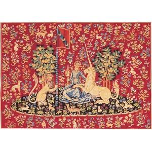 La vue tapisserie de la dame la licorne - Tapisserie dame a la licorne ...