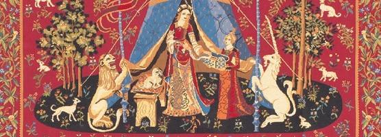 Toutes nos tapisseries de flandres tapisserie de la dame la licorne - Comment decoller de la tapisserie ...
