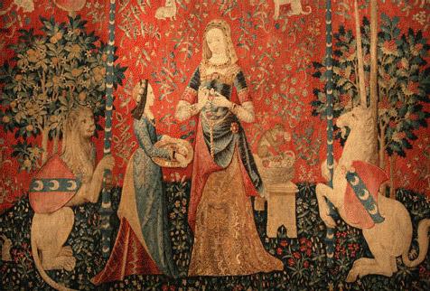 Tapisserie A Mon Seul Désir la Dame à la Licorne